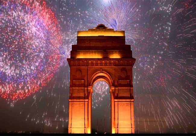 delhi, kerala new year celebration governments peoples