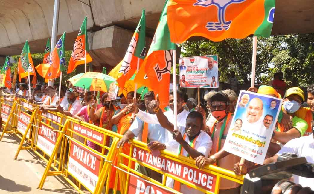 BJP Leader amit sha at chennai