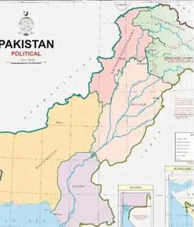 pakistans new political map controversy
