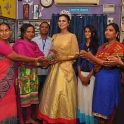 tamil transgender Participated in the Tamil beauty competition