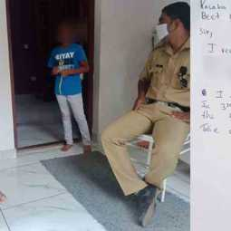 kerala boy complained police after his sister refused to play with him