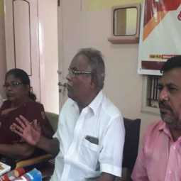 communist leader balakrishnan raise voice for farmers