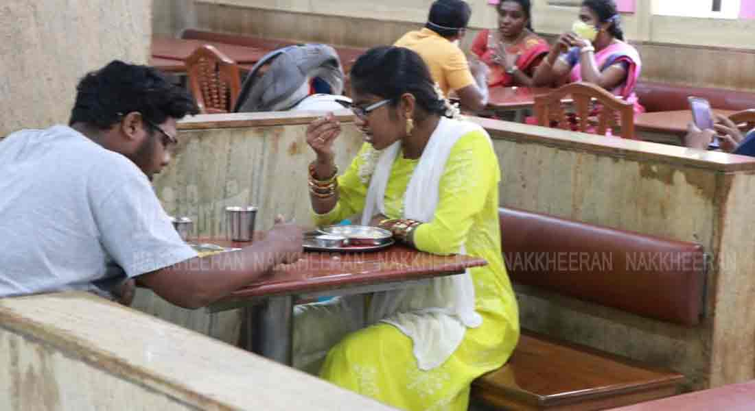 an now sit and eat in hotels in Chennai !!