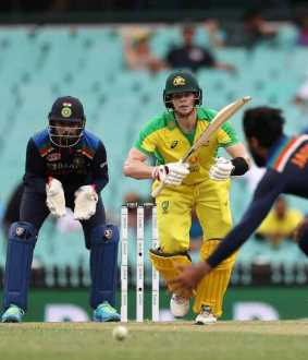 Australia vs India one day cricket match at sydney