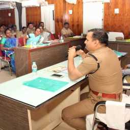 trichy childrens program police speech