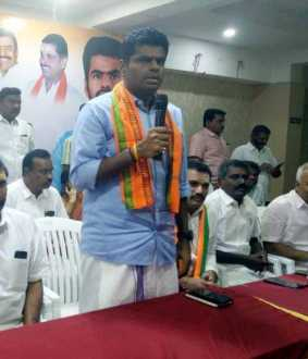 CORONAVIRUS ECONOMIC BJP LEADER ANNAMALAI