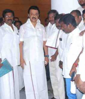 pmk Deputy General Secretary joins DMK