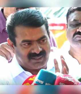 Seeman condolence for Dr santa