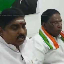 pondicherry congress mla suspended