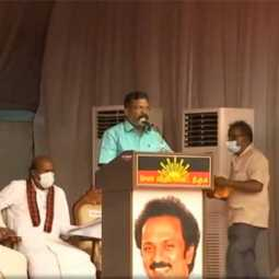 vck thol thirumavalavan speech at salem meeting