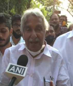 CONGRESS SENIOR LEADER AND KERALA FORMER CM OOMMEN CHANDY COVID POSITIVE