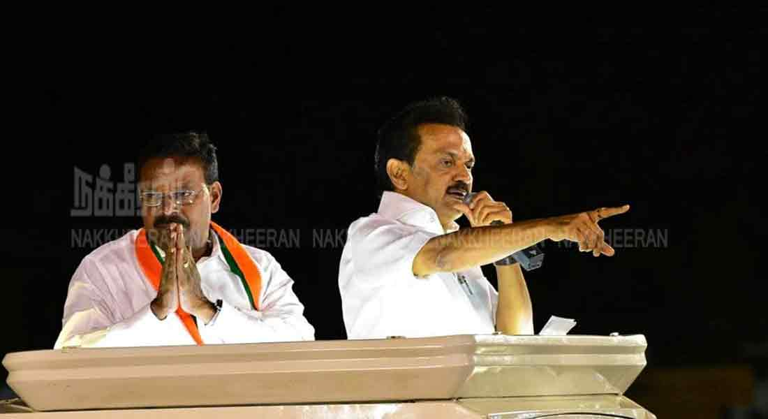 Ready to quit politics if proved - Stalin's challenge to CM
