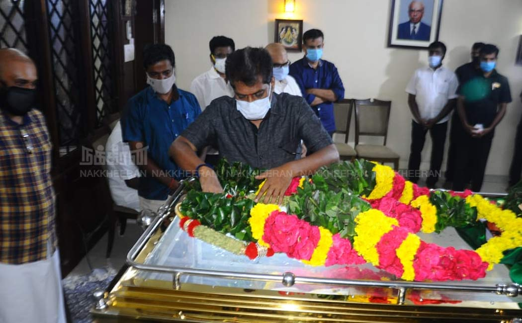 Nakkheeran MD pay Tribute to B.S.Gnanadesikan
