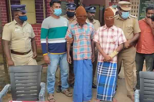 Those involved in serial robbery arrested ..!