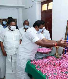 OBS mother-in-law dies! Chief Minister Edappadi went in person and consoled !!