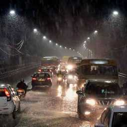 Rain in many places in Chennai