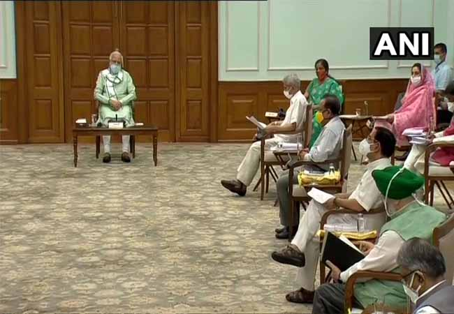 union cabinet meeting in delhi