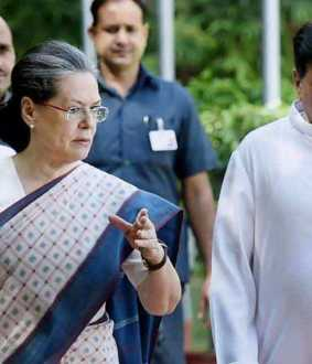 Ahmed Patel, Sonia Gandhi's confidant ...! Sonia Gandhi in grief over loss of ahmed patel