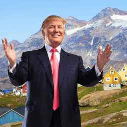 trump plans to buy greenland island