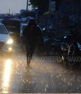 More than an hour of rain in Chennai !! (Pictures)