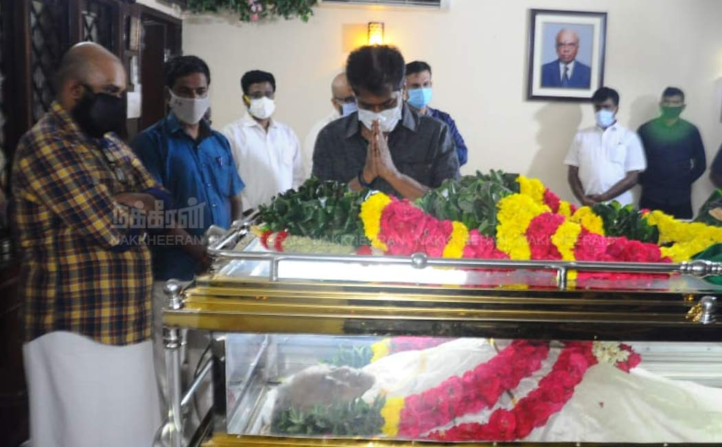 Celebrities pay Tribute to B.S.Gnanadesikan