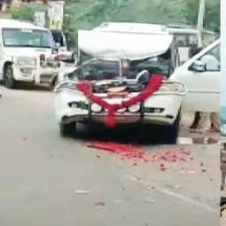 Cars following CM's car incident in thoothukudi