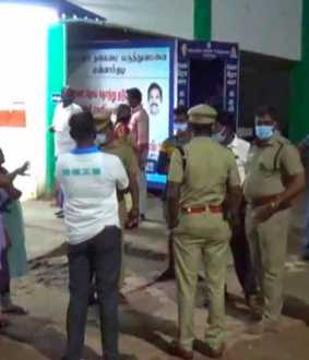 thiruvaru district mannargudi two incident police investigation