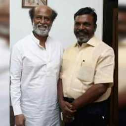 'Congratulations on running in politics as director Rajini' - Thiruma tweet