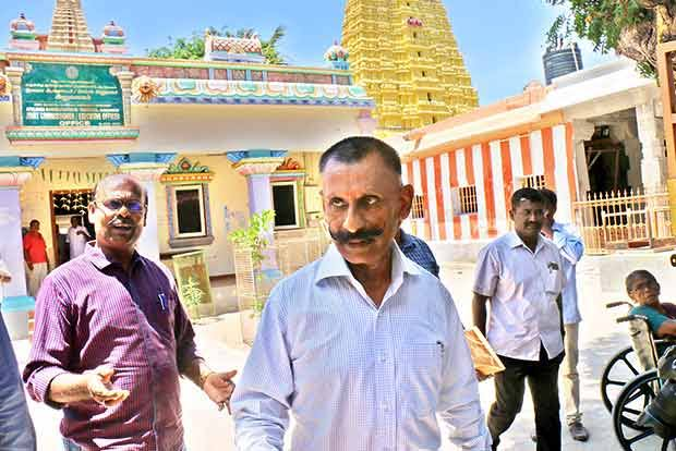 lord statue case pon manickavel chennai high court hearing