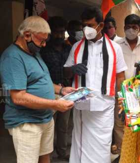 AIADMK candidate involved in campaign