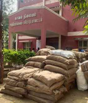 'Gutka' in the middle of a bundle of corn - Erode police caught