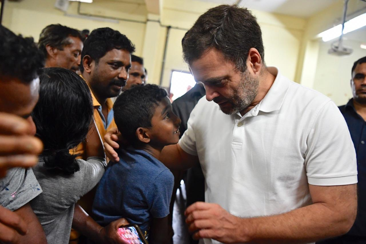 KERALA FLOOD CONGRESS PARTY RAHUL GANDHI WRITE LETTER FOR PM NARENDRA MODI