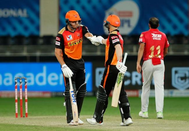 ipl match sun risers hyderabad vs kings eleven punjab teams