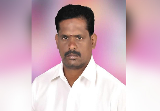 nagai district admk leader peoples cctv footage