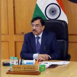 new chief election commissioner take oath swearing