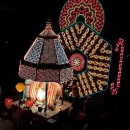 Masi Festival at Dindigul Electric chariot float