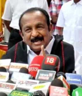 mdmk vaiko press meet