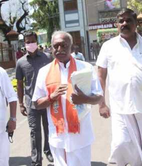 """There is a candidate against the people ..."" - Pon. Radhakrishnan"