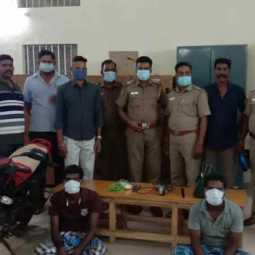 Those who tried to break and steal the temple and theft near Vriddhachalam have been arrested!