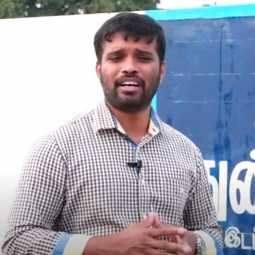 salem district government officer house police raid