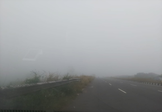 Heavy fog in Chennai city and suburbs!