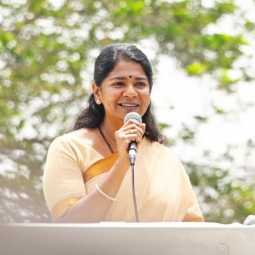 DMK PARTY LEADER MP KANIMOZHI COVID TEST FOR POSITIVE