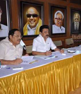 Interview with DMK candidates