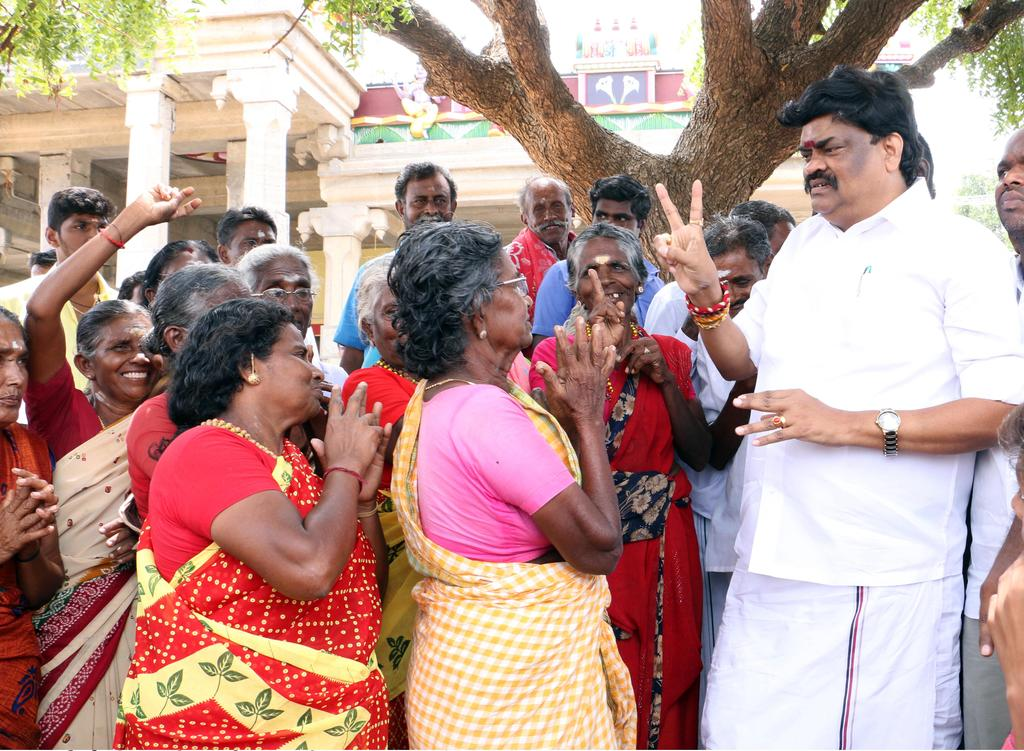 """Rs. 20 crores transferred to Nankeneri for giving up!"" Rajendra Balaji"