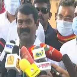 In Coimbatore, houses have written 'Paid' ... we see ... will the Election Commission see? -Seeman question