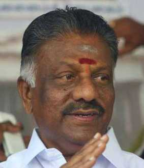 The amount spent by the Tamil Nadu government for Corona ...  O. Panneerselvam