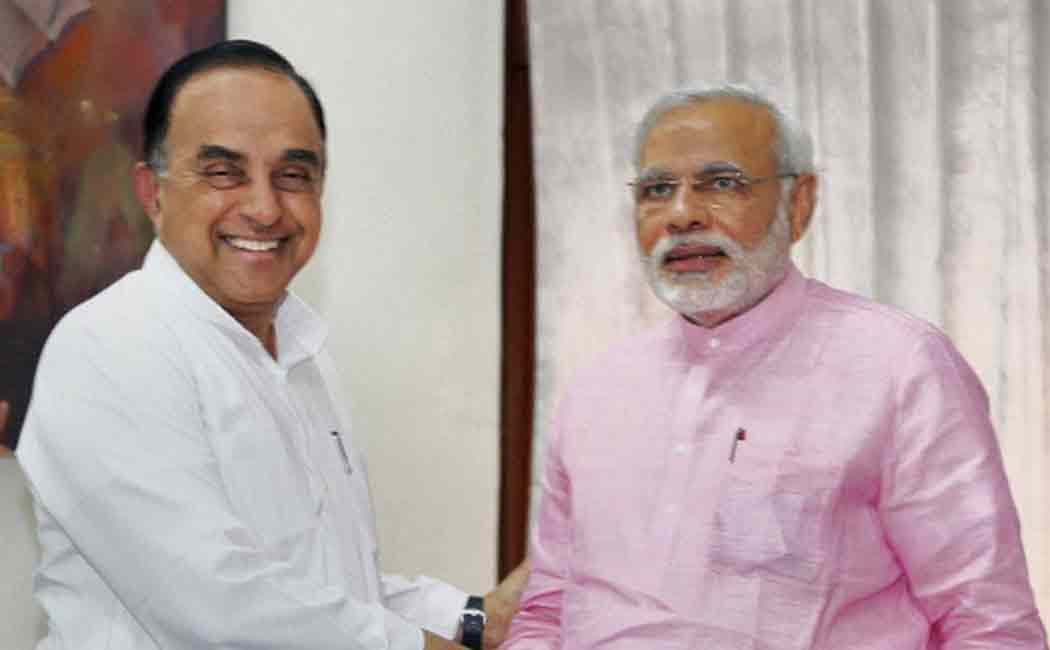 subramanian swamy about air india