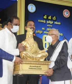 Thiruvalluvar statues to be sent to the United States