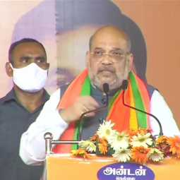 UNION HOME MINISTER AMIT SHAH ELECTION CAMPAIGN AT NELLAI DISTRICT