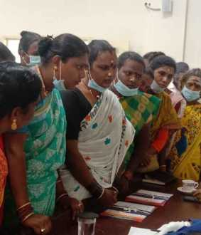 Transgenders who petitioned the District Collector